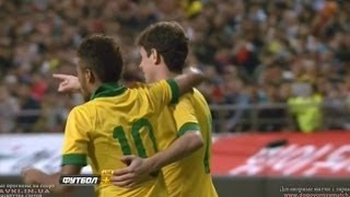 OSCARGOAL!SouthKoreavsBrazilオスカルがゴール!韓国VSブラジル2013-10-12