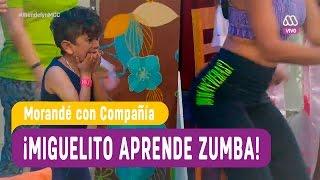 Miguelito aprende zumba con sensual instructora - Morandé con Compañía 2016
