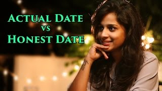 Actual Date vs Honest Date ft. Abhiram Pilla - Telugu Short Film