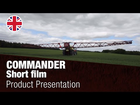 Hardi Commander vontatott szántóföldi permetezőgép