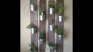 Clever uses of buckets in home design