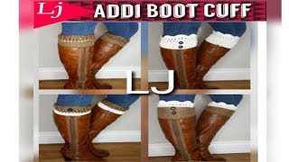 Addi Express 4 Style Boot Cuff - One Cuff 4 Ways To Wear