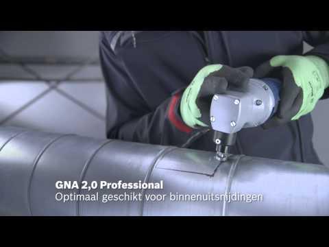 Bosch Knabbelschaar GNA 2,0 Inbusstiftsleutel SW 2,5, matrijs, stempel