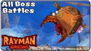 Rayman Origins All Bosses