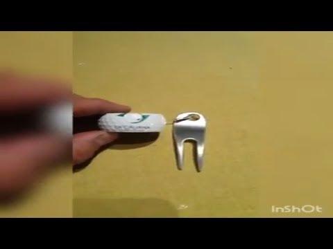 Arreglapiques golf artesanal