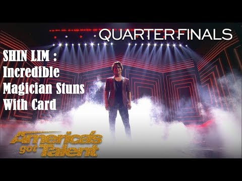 DON'T BLINK! You Won't Want To Miss Shin Lim's Latest Card Magic, America's Got Talent 2018