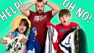 DAD vs KIDS shopping challenge!