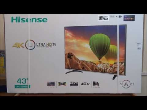 Unboxing and first impressions: Hisense H43M3000 4K Smart TV (UK version) as PC monitor