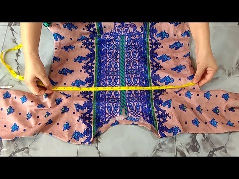 Kameez Cutting And Measurements Step By Step || In Urdu