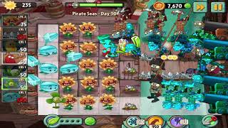 Plants vs Zombies 2 : Pirate Seas - Day 30 Walkthrough  {Android / ios}