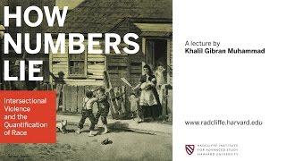 Khalil Gibran Muhammad | How Numbers Lie || Radcliffe Institute