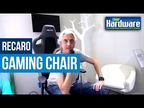 Recaro Gaming Chair vorgestellt | Prototyp im Hands-On