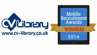 Mobile Recruitment Awards - Interview with CV Library - Best Mobile Website - Job Board