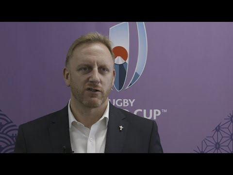 Rugby World Cup Tournament Director Alan Gilpin updates on RWC 2019