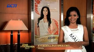 Everdina Catherien Pattipeilophy for Miss Indonesia 2015