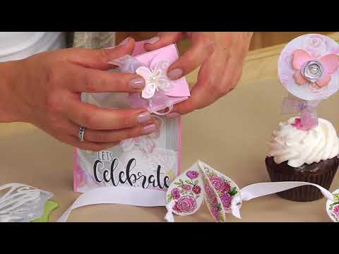 Easily DIY All Your Events With The Celebrations Collection By David Tutera | Sizzix