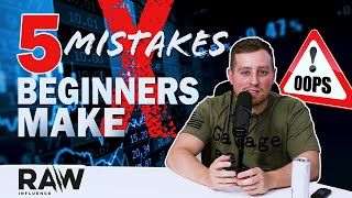 5 Mistakes Beginners Make Trading!