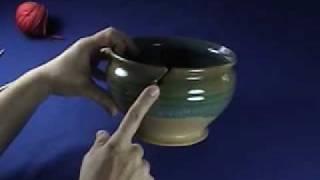 Knit Witch Yarn Bowl Demonstration