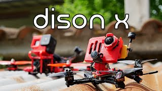 RETIRE your 5 inch! Dison X micro cinematic freestyle fpv drone!
