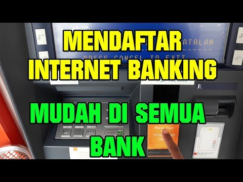 Cara Mendaftar Internet Banking Bank BNI,BRI,MANDIRI,BCA #daftarinternetbanking #lintangvlog