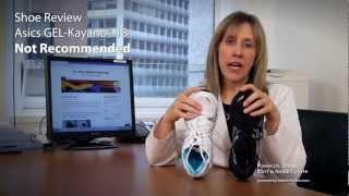 5390d9774de Asics GEL-Kayano® 18 Compared to version 17 Shoe Review - Dr Jenny Sanders