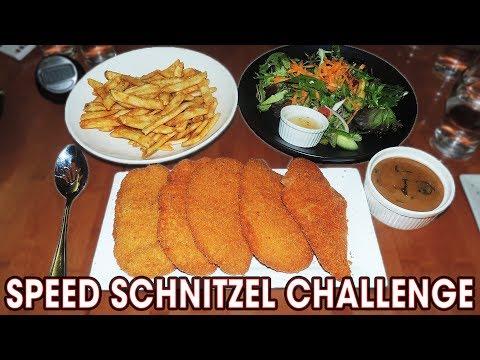 Schnitzel Eating Challenge vs 3 Australian Bodybuilders!!