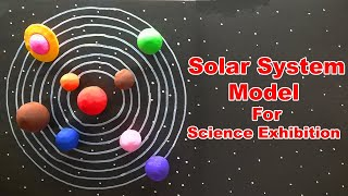 How To Make  Model Of Solar System As Science Fair Projects For 5th Grade