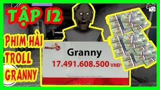 Phim Troll Hài Granny Tập 12 | Bà Granny Trúng Xổ Số