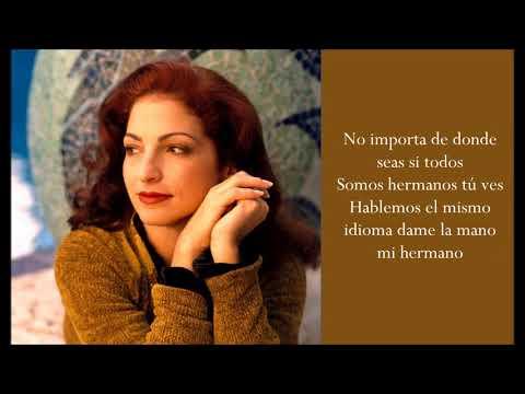 Hablemos El Mismo Idioma - Gloria Estefan - (Lyrics)