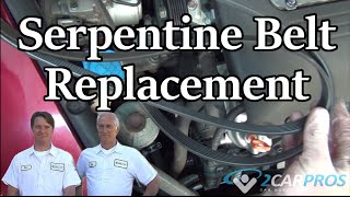 Serpentine Belt Change Acura TL 2004-2008