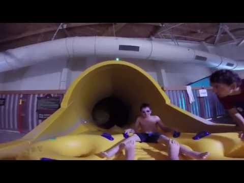 Howlin Tornado water slide in first person view.
