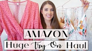HUGE AMAZON TRY ON HAUL  * Summer & Vacation Outfit Ideas*
