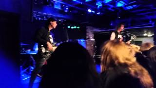 ANVIL LIVE - METAL ON METAL & FORGED IN FIRE - CALGARY 2015 DICKENS