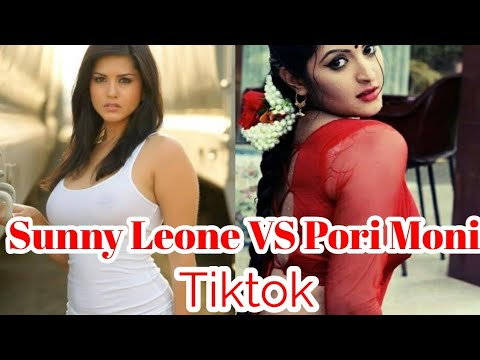 Sunny Leone VS Pori Moni Tiktok | Musically Of stars