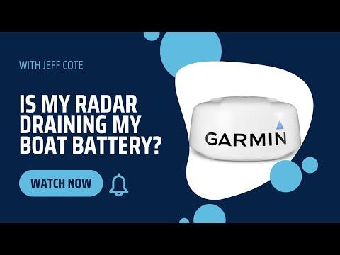 Is My Radar Draining My Boat Battery?