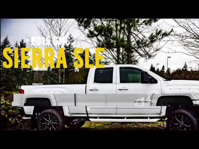 Solid Quality: 2015 GMC Sierra 2500 SLE