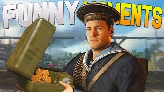 COD WW2 Funny Moments - Voice Changer,  EPIC Ninja Defuses, Lil Pump & More!
