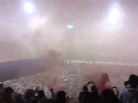 """""""Gurkas el mejor recibimiento 2014"""" Barra: Gurkas • Club: Jorge Wilstermann"""