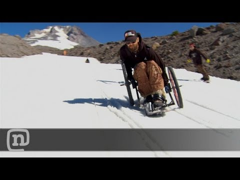 When A Snowboard And A Motorbike Collide, Anyone Can Ride The Slopes