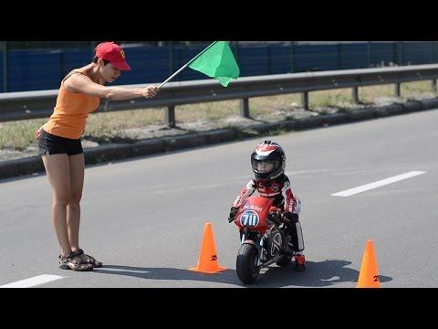 Baby Biker: 4-Year-Old Has Insane Motorcycle Skills