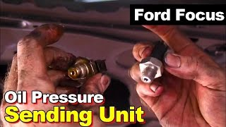Replace Oil Pressure Sensor