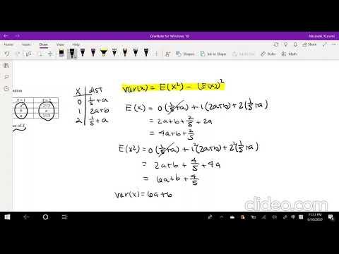 SOA Exam P Question 318 | Variance of Discrete Multivariate ...