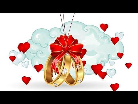 Прикольное оригинальное свадебное поздравление. Поем КАРАОКЕ. Открытка к свадьбе.