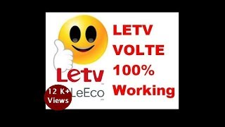 How enable jio 4g Volte in letv 1s/ le 1s eco 100% Working