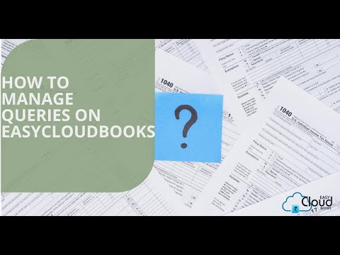 How to manage Queries on easycloudbooks ?