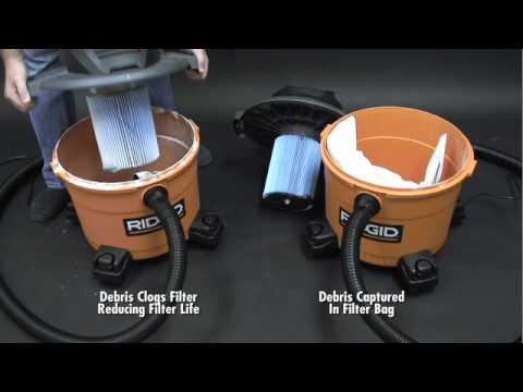 Ridgid High Efficiency Dust Bags For Ridgid 12 Gal To 16