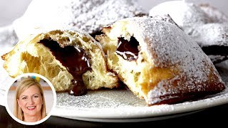 Anna Bakes AMAZING Truffle Centered Beignets For Valentine's Day!