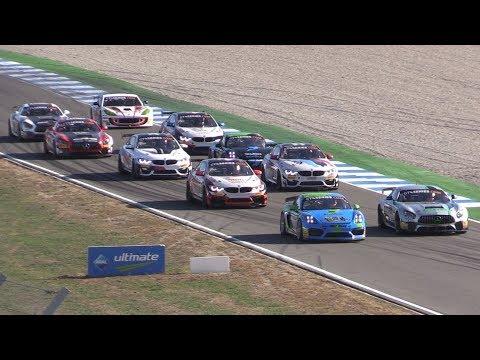 GT4 Sprint Cup Europe Hockenheim 2018-Ginetta G55, Merc AMG , BMW M4 & Porsche Cayman CS