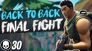 30 KILLS BACK TO BACK!! Final Fight LTM Gameplay (Fortnite Battle Royale)