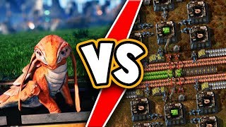 Satisfactory VS Factorio! WHO WILL WIN?